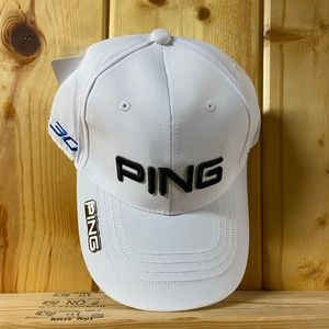 New Ping Golf hat with ball marker